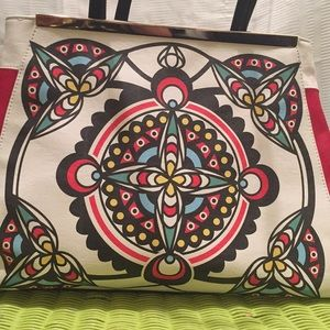 Big Buddha Bags - Big Buddha tribal red/black/white RARE Dahlia Bag